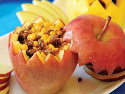 دلمه سیب